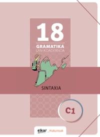 Gramatika lan-koadernoa 18 (C1)