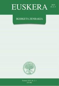 Euskera 2019,2,1