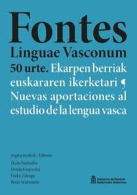 Fontes Linguae Vasconum 50 urte.
